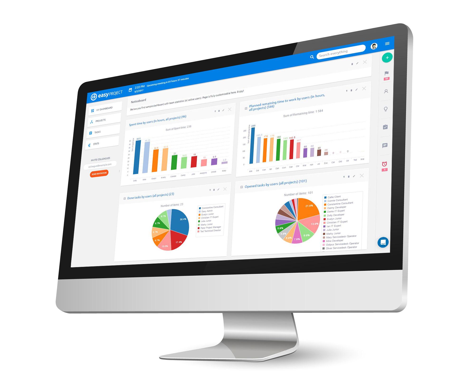 EasyProject.com'da Proje Yönetimi