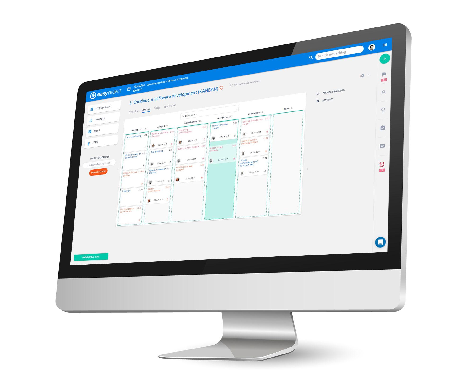 Easy Project ile SCRUM Proje Yönetimi