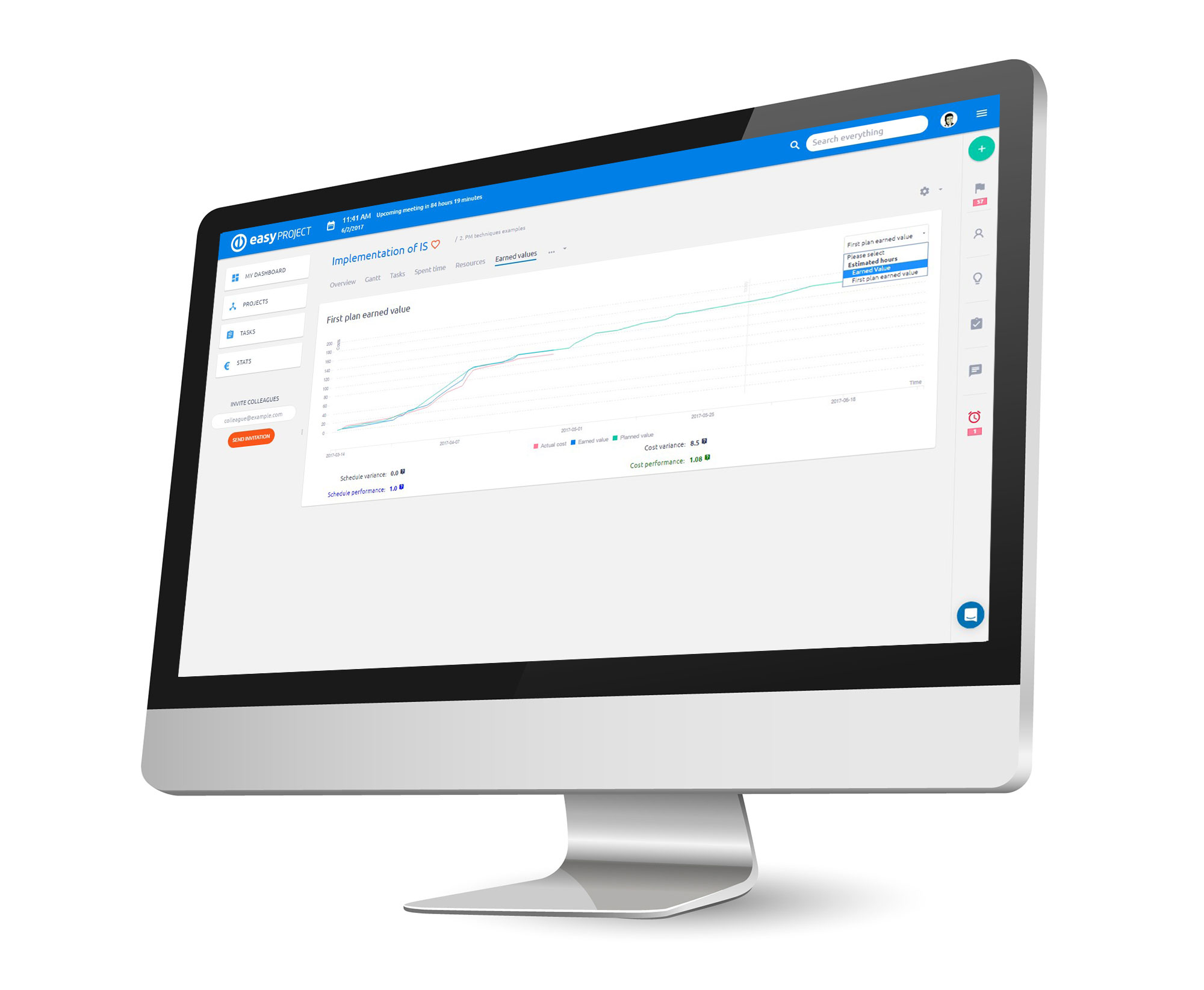 Easy Project ile EVM Proje Yönetimi