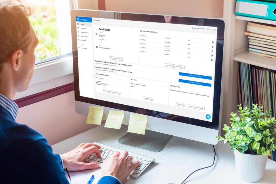 Willkommen im neuen Kundenbereich 2.0 – erfahren Sie, wie Sie die Verwaltung Ihres Easy Project-Kont