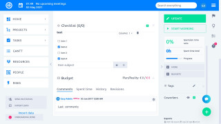 Easy Project - Checkliste