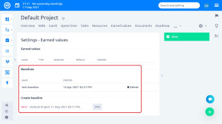 Easy Project - Baseline
