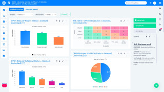 Easy Project 10 - Business dashboards - grafer og diagrammer med on-click funktionalitet