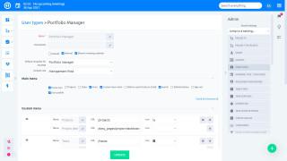 Easy Project 10 - Kullanıcı türlerine göre global roller - rollerin listesi