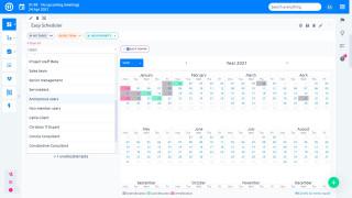 Easy Project 10 - Scheduler - dagsordenvisning