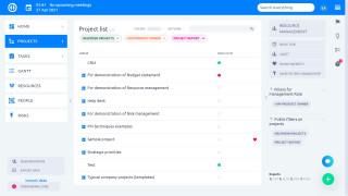 Easy Project 10 - Proje Ekibi Üyesi Kontrol Paneli