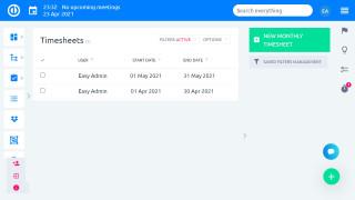 Easy Project 10 - Zaman Çizelgeleri - satırı sil