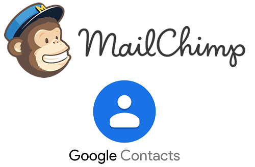 Mailchimp ve Google kişileriyle kolay Proje entegrasyonu kişileri
